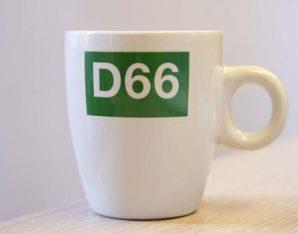 Bakkie doen bij D66